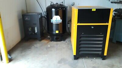 2015 Eaton Polar Air Compressor 10 Hp Prv020003 Dryer And 120 Gallon Tank