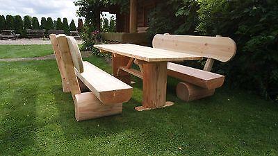 Rustikale Hofmöbel..Holzmöbel.Sitzmöbel.Gartenmöbel.Terrassenmöbel..