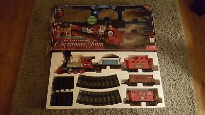 Blue Hat North Pole Junction 35 pc Christmas Train Set WILL split 4 REPLACEMENT