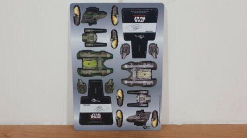 Star Wars PocketModel TCG Ship Order 66 - Jedi Fighter Tank Stass Allie