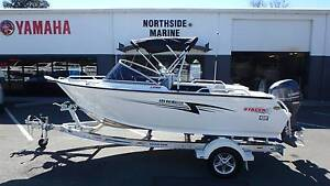 2016 Stacer 489 BayMaster Runabout + Yamaha 70hp 4-Stroke Boondall Brisbane North East Preview