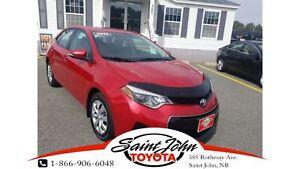 2014 Toyota Corolla S $143.27 BIWEEKLY!!!