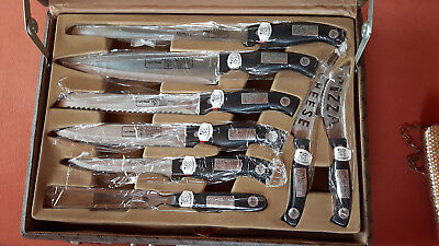 Carl Weill 24 teiliges Messerset im Koffer handgearbeitet NEU Geschenk