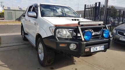 2010 Toyota Hilux SR5 Duel Cab Ute 4x4 TURBO DIESEL AUTO *EXTRAS* Williamstown North Hobsons Bay Area Preview