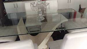 dinning table with 6 chairs Minto Campbelltown Area Preview