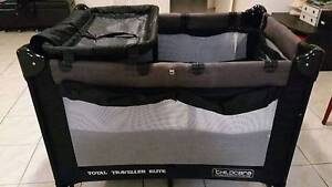 Used Travel Cot with change table Calamvale Brisbane South West Preview