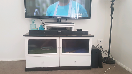 Tv unit, converted to reptile tank.