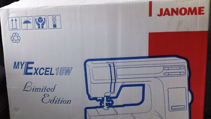 Janome MYEXCEL 18W Limited Edition