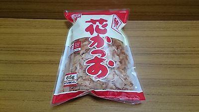 (JAPAN) DASHI. Dried bonito. soup stock. Katsuobushi. 1 pack 65g. Free shipping.