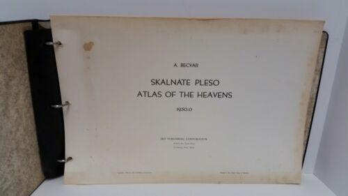 Skalnate Pleso Atlas of the Heavens 1950.0  A. Becvar 1969 Complete