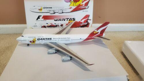 Blue Box Qantas Airways B 747-438 1:200 BBOXQFA06 Kangaroo 2012 Olympics VH-OJU