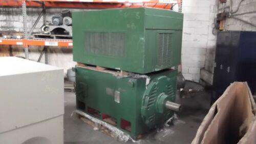 600 HP General Electric AC Electric Motor 1200 RPM Fr 8311S WPIIBB 2300 V EOK