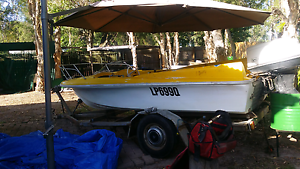 Boat with motor for sale no trailer Caboolture Caboolture Area Preview
