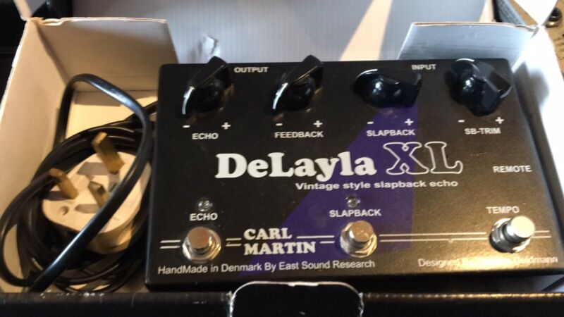 Carl Martin Delayla XL Analog Tape Echo Delay Guitar Pedal