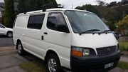 CAMPERVAN LONG WHEELBASE TOYOTA HIACE 2002 Newcastle Newcastle Area Preview