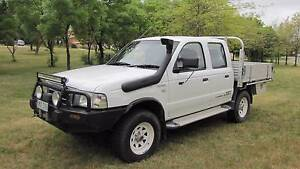 2006 Ford Courier PH (Upgrade) Turbo Diesel  Dual Cab Manual 4X4 Calwell Tuggeranong Preview