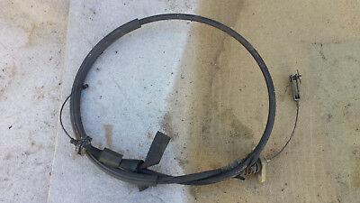 Volvo 240 bonet pull cable