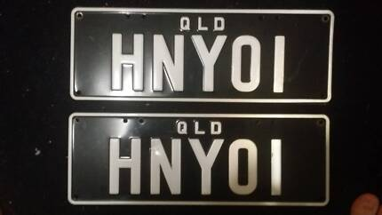 PPQ personal plates Chermside West Brisbane North East Preview