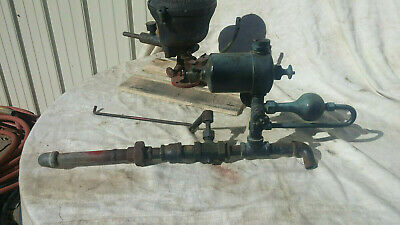 Antique Pickering Steam Engine Governor-swift Lubricator-walworth Throttle