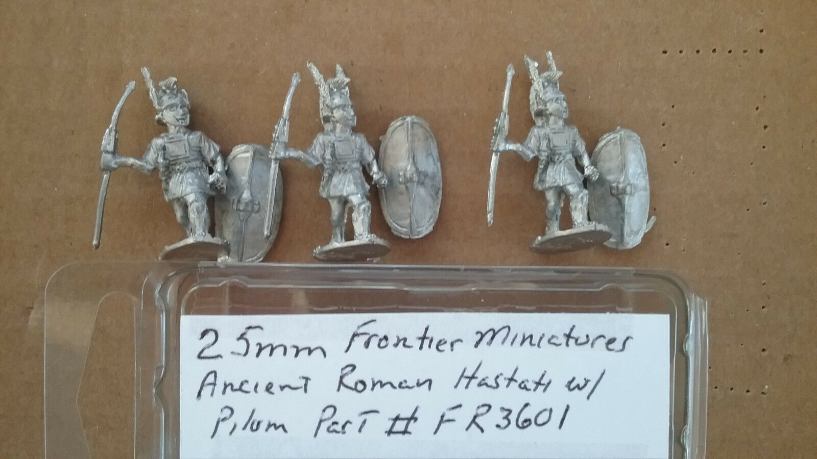 15mm Xyston Miniatutres Ancient Republican Roman Hastati w// Pilum