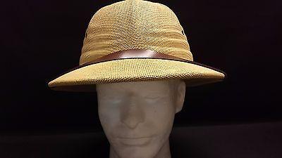 Straw Pith Helmet ( pith safari  helmet  straw  25 inch ( 7 - 7 1/2 ))
