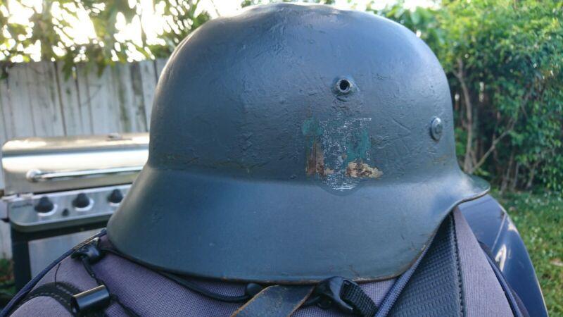post war m35 german helmet