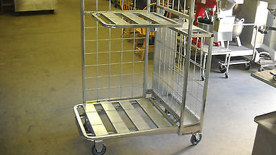 Win-holt Steel Rolling Stocking Carts New
