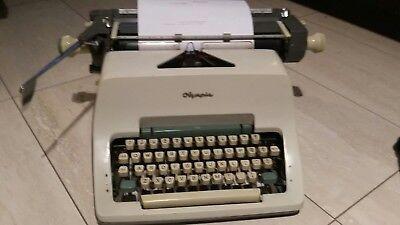 Vintage Typewriter Olympia Werke Ag Made In Germany