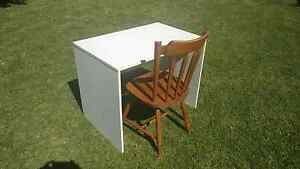 Desk, small white melamine. Dianella Stirling Area Preview