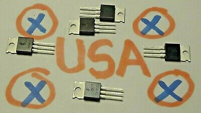 5pcs Tip41c Npn Power Transistor 6a - 100v - 65w - To-220 - Ships Today