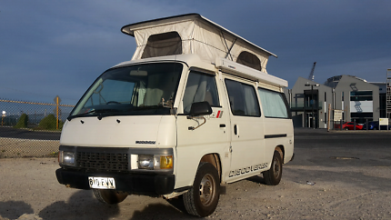 Nissan 4x4 campervan