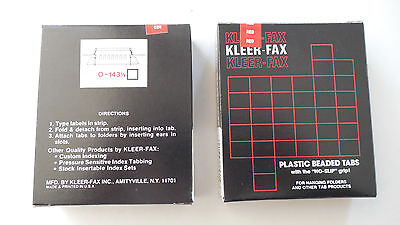 Kleerfax 13 Cut Hanging File Folder Tabs Red 2 Boxes Of 25