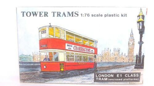 Tower Trams 1:76 OO Scale Charringtons London E1 Class Tram Plastic Model Kit