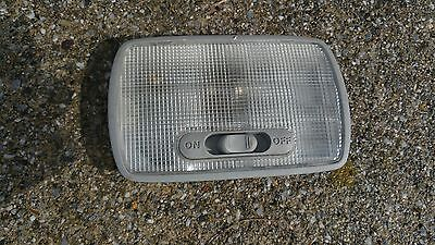 02 - 06 ACURA RSX OEM INTERIOR DOME MAP LIGHT IN GRAY