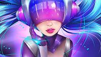 Poster 42x24 Cm League Of Legends Dj Sona Lol 02 -  - ebay.es
