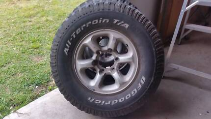 4x4 tyres and alloy Brighton Brisbane North East Preview