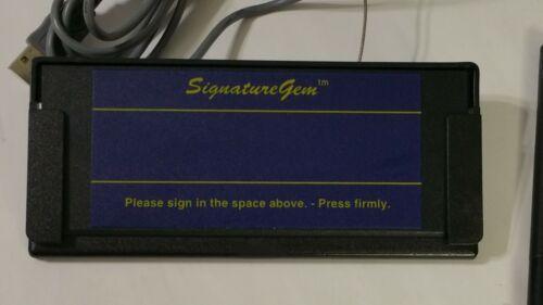 Topaz SignatureGem T-S261 Electronic Signature Capture Pad T-S261-KHSB-R