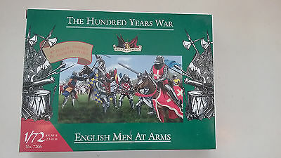 1/72 scale Accurate models The Hundred Years War English men At Arms