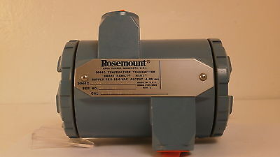 Rosemount Temperature Transmitter 3044c A1b4 New Surplus