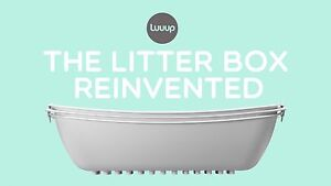 Luuup sifting 3-tray litter box