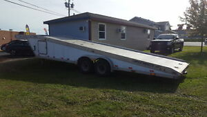 1989 featherlight ATB8540 2 Car Hauler