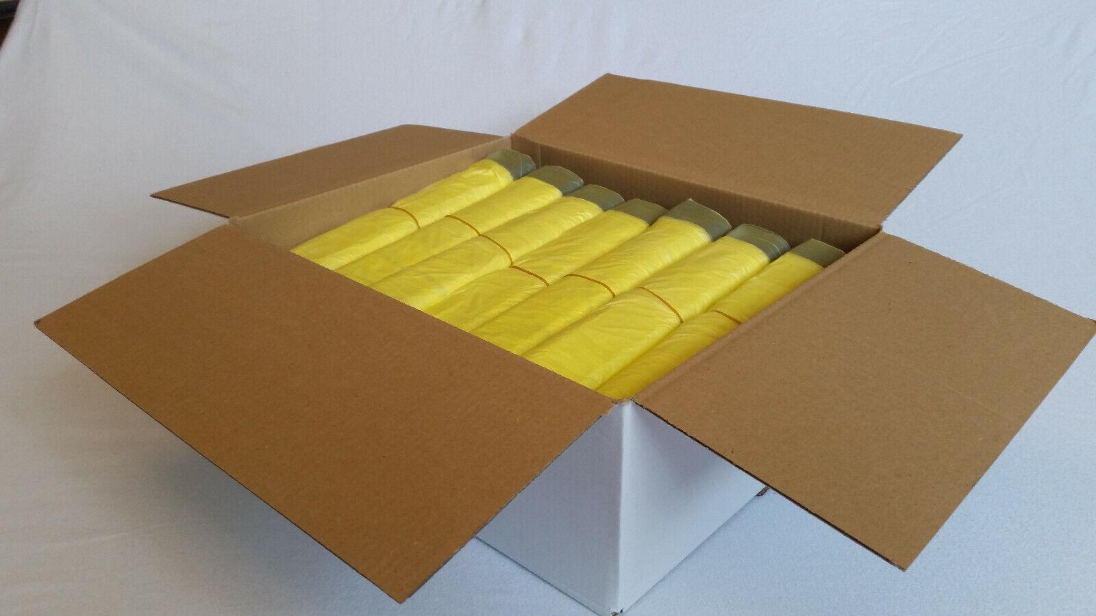 Gelber Sack Gelbe Säcke Müllbeutel Müllsack mit Zugband bis 200 Rollen
