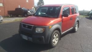 2003 Honda Element SC  Nice Shape, spacious affordable winter ca
