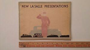 1930-La-Salle-034-Supreme-Performance-034-B-amp-W-Dealer-Sales-Catalog-Brochure-VG-US