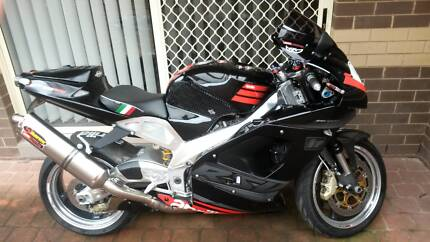 Aprilia RSV1000 Mille Italian Sportsbike 2003 Superbike Champion Upper Kedron Brisbane North West Preview