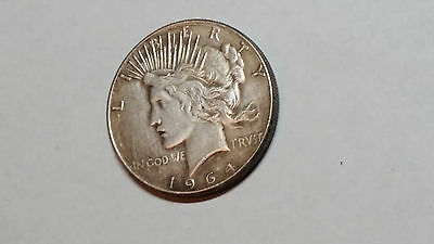 PEACE DOLLAR 1964 D Coin Mythical Fantasy Novelty Never Issued Heads Flip (A)