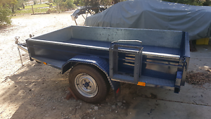 Versatile 3 bike, quad, trade or box trailer 8x4 Wangara Wanneroo Area Preview
