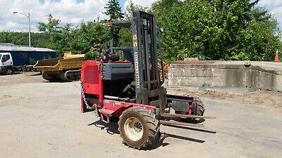 2003 Moffett M5000 Forklift 3-wheel Truck Mounted Piggyback 5000lb Kubota V2203