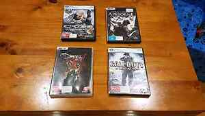 4 PC games, Crysis Warhead, Call of Duty World at War, Darkness 2 Enfield Port Adelaide Area Preview