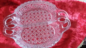 80's vintage Classy Versace Style double snack serving tray Arana Hills Brisbane North West Preview